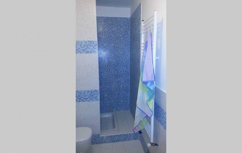 Location de vacances - Appartement à Agropoli - .... et la douche