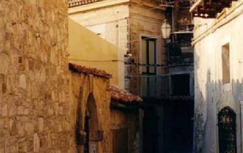 Location de vacances - Appartement à Agropoli - Une ruelle pittoresque de la vieille ville