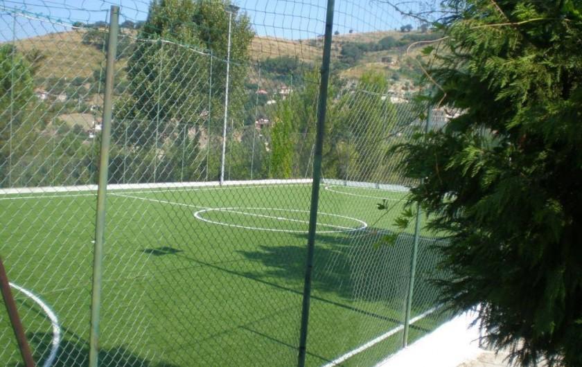 Location de vacances - Appartement à Agropoli - Le terrain de football à cinq