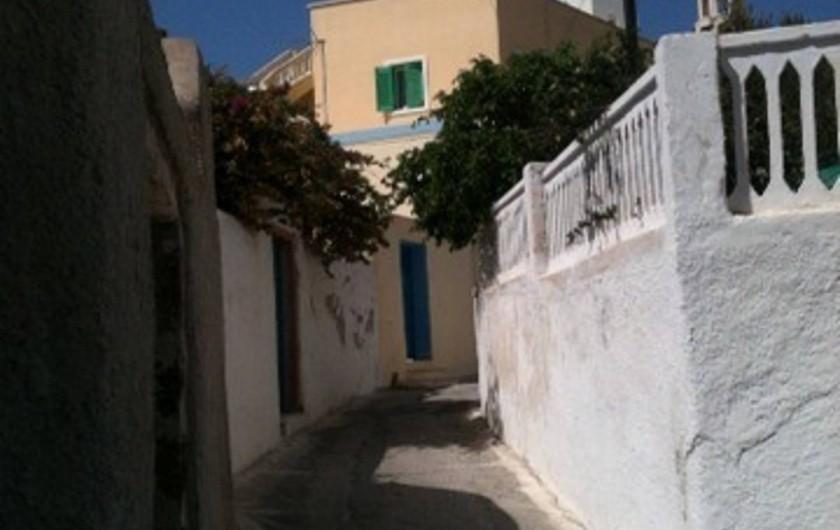 Location de vacances - Appartement à Mesaria - Pas de circulation, juste la paix!!