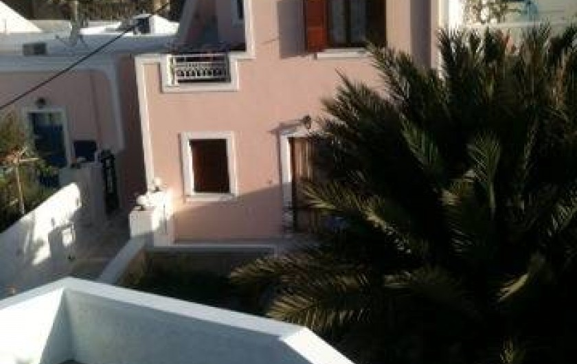Location de vacances - Appartement à Mesaria - Nos voisins Stelios et Dimitra.