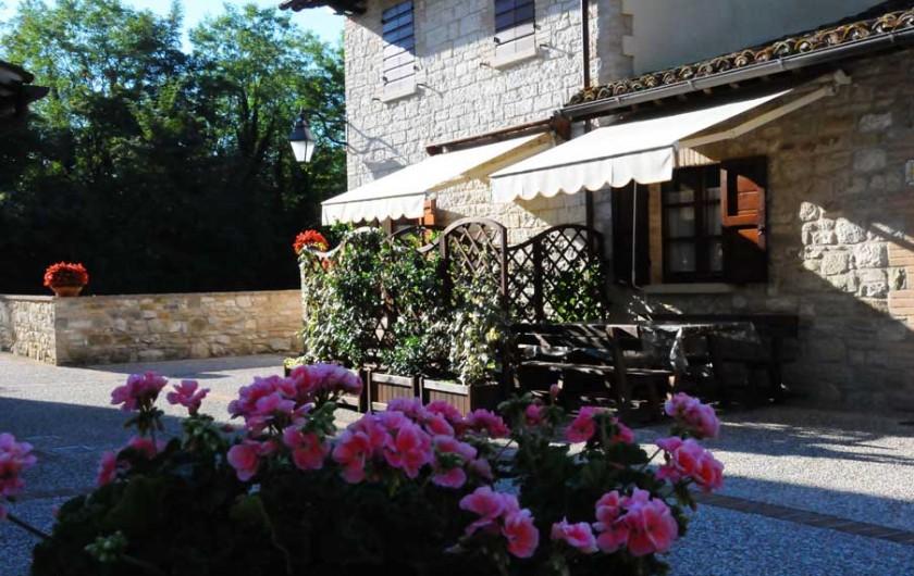 Location de vacances - Appartement à Gubbio - Place extrérieur privée app. Ginestra
