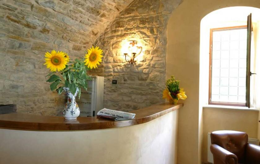 Location de vacances - Appartement à Gubbio - Réception