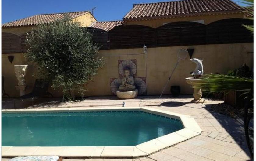 Location de vacances - Villa à Lespignan