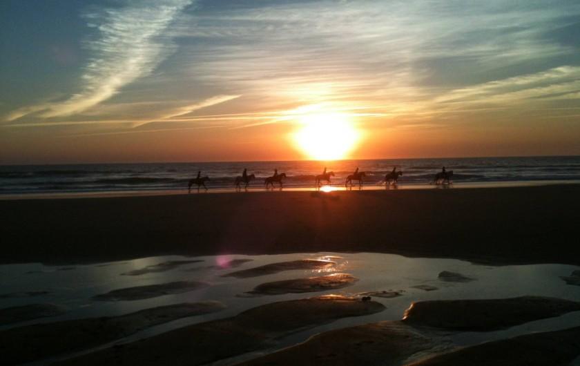 Location de vacances - Maison - Villa à San Andrés Golf - les chevaliers sur une plage  proche [7 minutes en auto] a la couchee du soleil