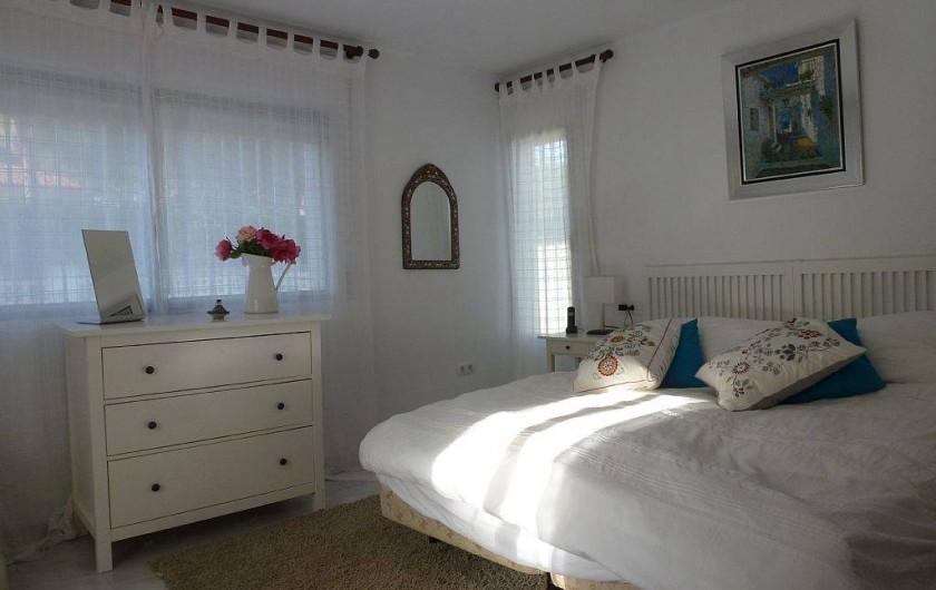 Location de vacances - Maison - Villa à San Andrés Golf - la chambre a lit principal avec ensuite