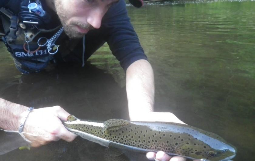 Location de vacances - Gîte à Valette - Guillaume votre hôte est amoureu de nature et guide de pêche.