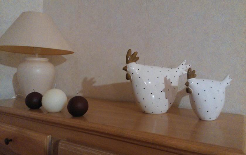 Location de vacances - Gîte à Valette - Les gîtes profitent d'une décoration de plus en plus soignée.
