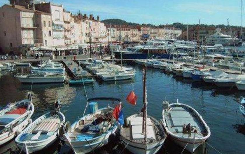 Location de vacances - Appartement à Montferrat - St Tropez le vieux port