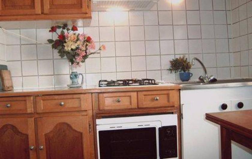 Location de vacances - Appartement à Montferrat - la cuisine