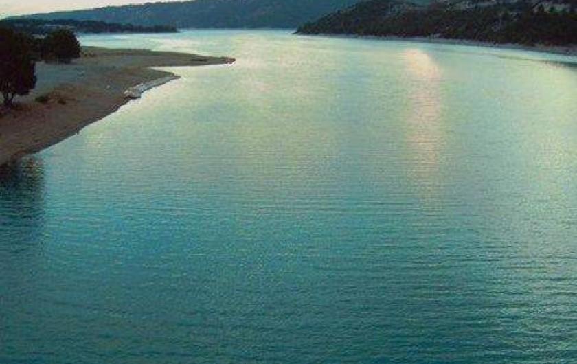 Location de vacances - Appartement à Montferrat - lac Ste Croix