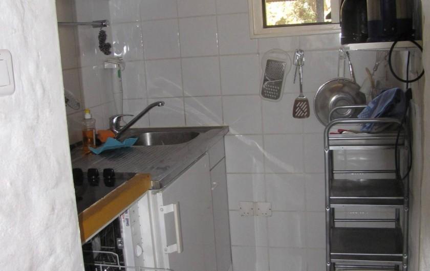 Location de vacances - Chalet à Olmeto - Coin cuisine