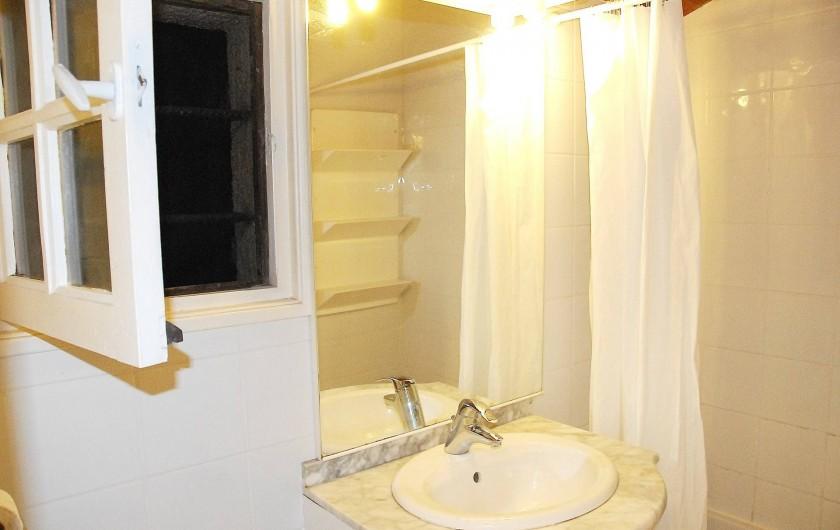 Location de vacances - Chalet à Olmeto - Salle de bain