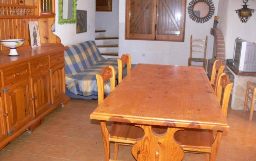 Location de vacances - Villa à L'Ametlla de Mar - séjour: salon