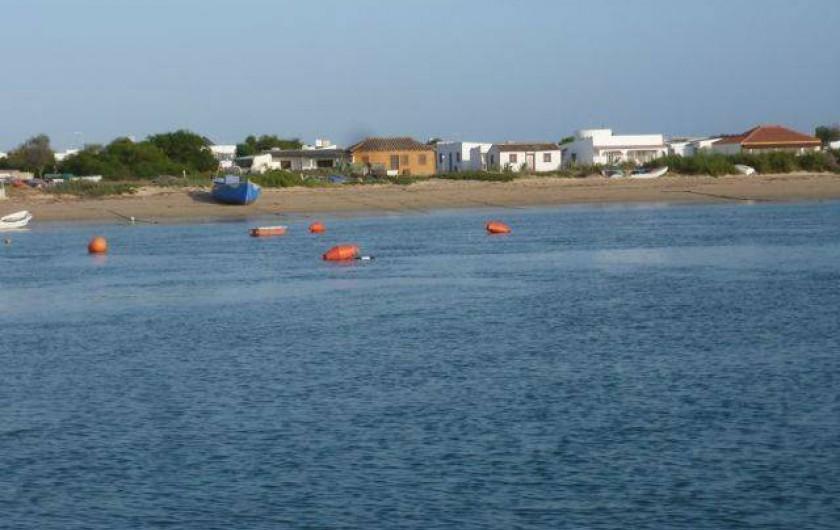 Location de vacances - Appartement à Faro - Plage de île culatre