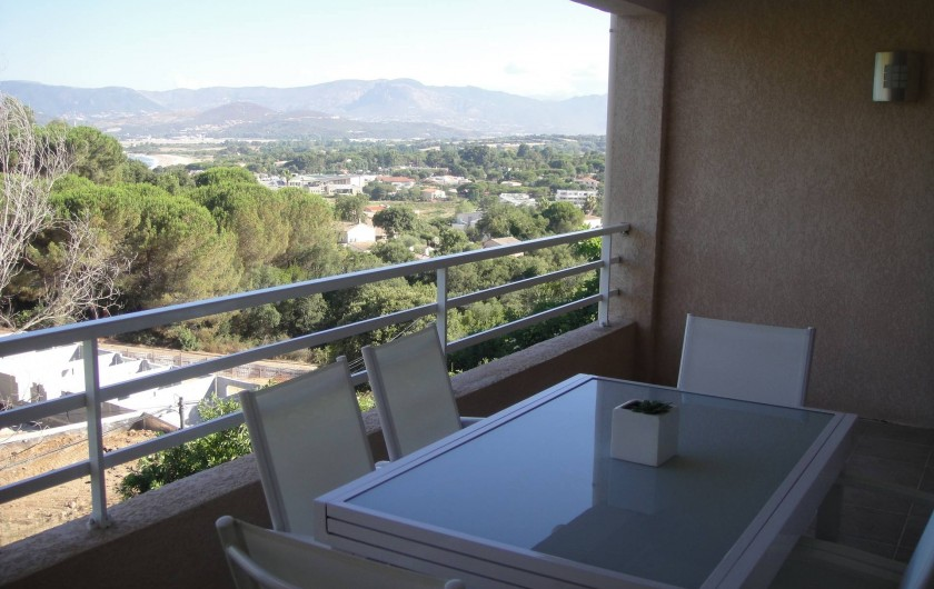 Location de vacances - Villa à Porticcio - VUE TERRASSE HAUT
