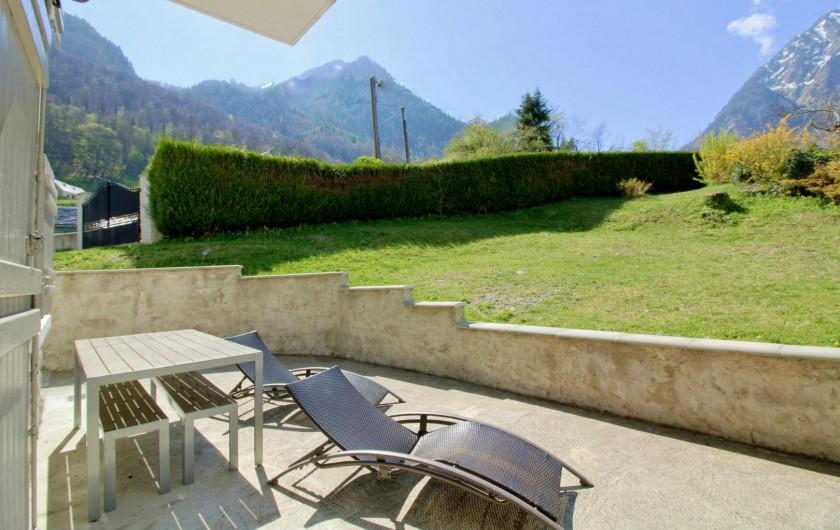 Location de vacances - Chalet à Cauterets - terrasse