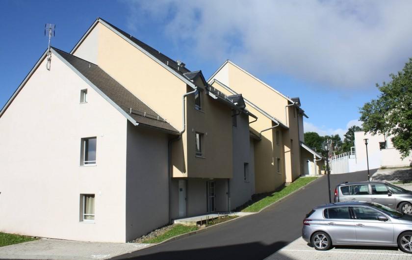 Location de vacances - Studio à Picherande - Bâtiment A et B côté nord