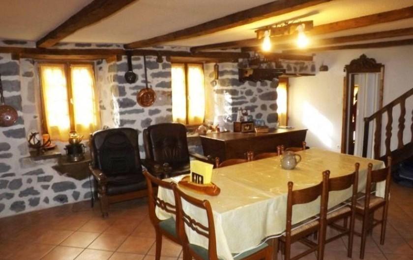 Location de vacances - Gîte à Saint-Martin-Sous-Vigouroux
