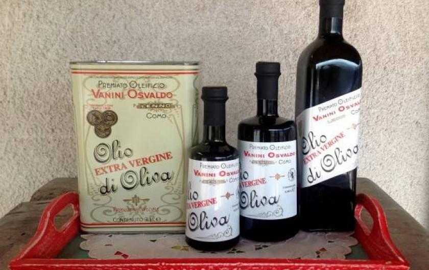 Location de vacances - Maison - Villa à Lenno - Huile d'olive de Lenno