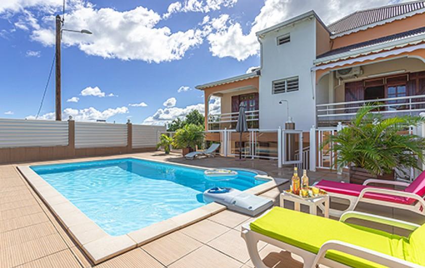 Location de vacances - Maison - Villa à Le Moule - Piscine