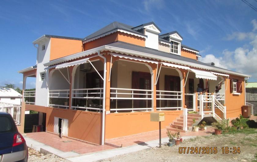 Location de vacances - Maison - Villa à Le Moule - La villa