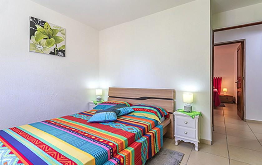 Location de vacances - Maison - Villa à Le Moule - Chambre rouge