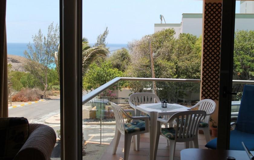 Location de vacances - Appartement à Morro Jable - Balkon-Terrace
