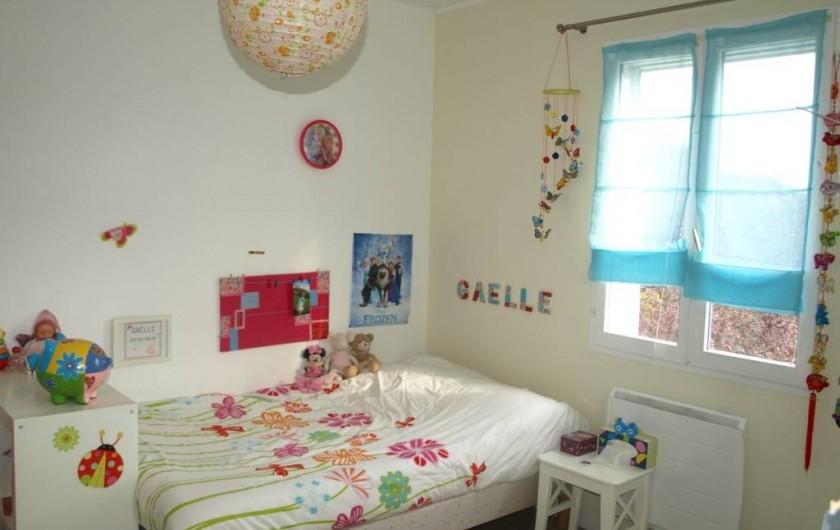 Location de vacances - Villa à Alleins - Chambre enfants 2 lits 14m2