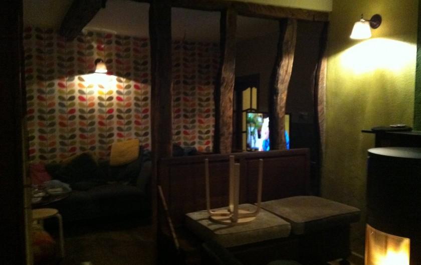 Location de vacances - Gîte à Malempré - Salon 1 et coin tv