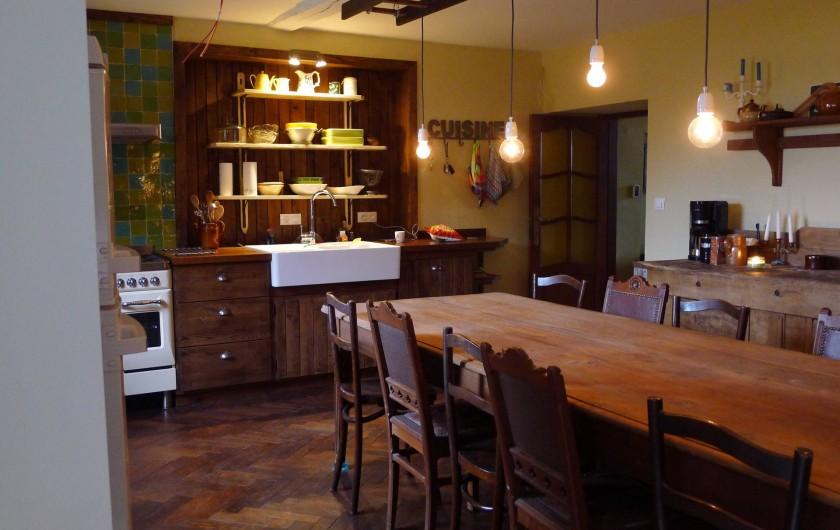 Location de vacances - Gîte à Malempré - Cuisine 1