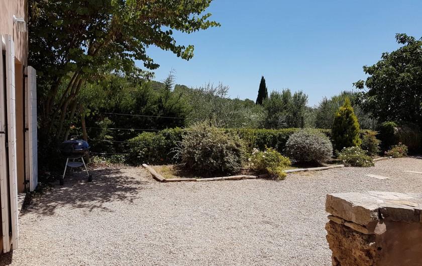 Location de vacances - Mas à Lorgues - Jardin