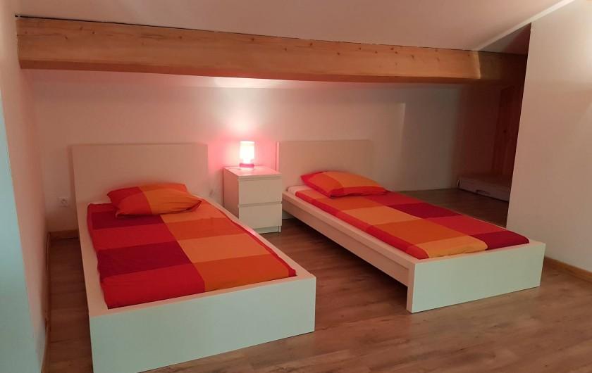 Location de vacances - Mas à Lorgues - Chambre mezzanine 5