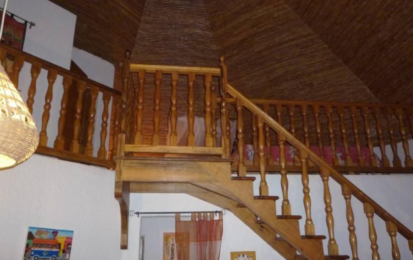 Location de vacances - Villa à Saly - Mezzanine