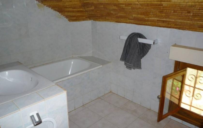 Location de vacances - Villa à Saly - Salle de bain