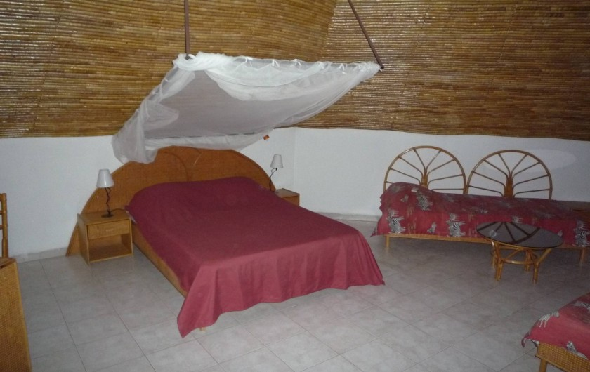 Location de vacances - Villa à Saly - Mézzanine