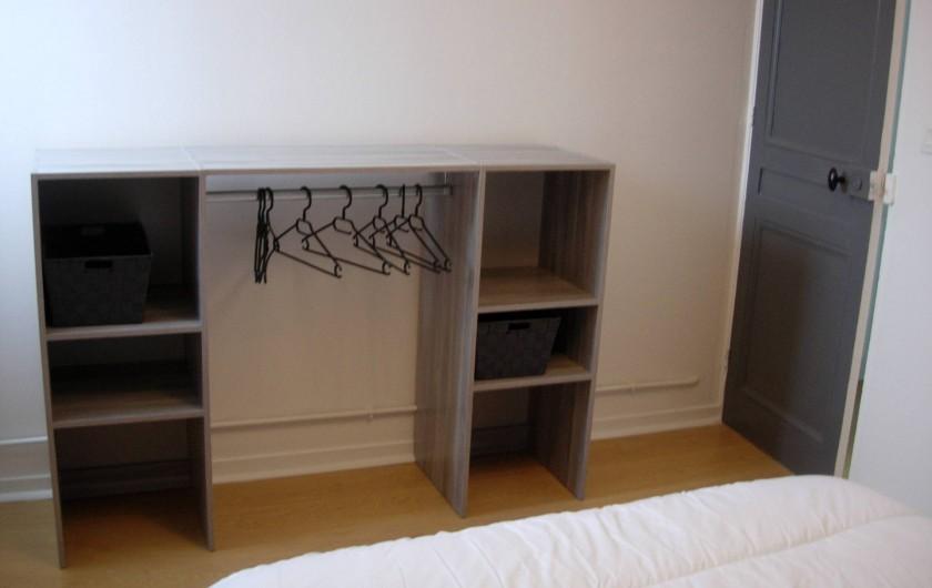 Location de vacances - Appartement à Fécamp - CHAMBRE 1