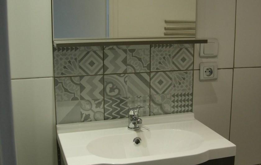 Location de vacances - Appartement à Fécamp - SALLE DE DOUCHE