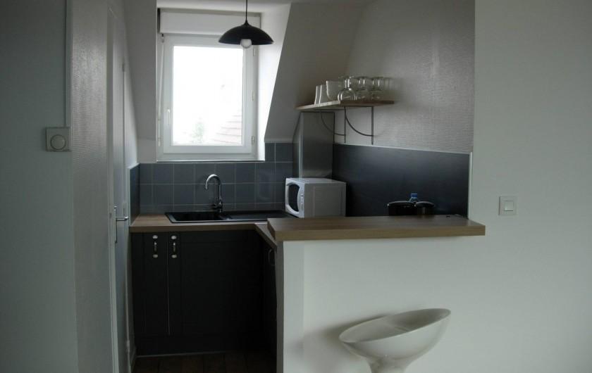Location de vacances - Appartement à Fécamp - CUISINE