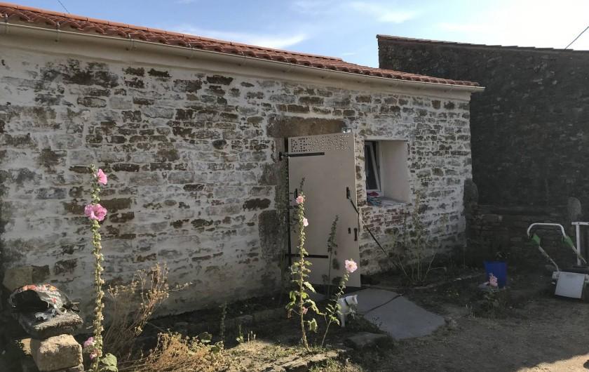 Location de vacances - Chalet à Talmont-Saint-Hilaire - Entrée de la maison individuelle