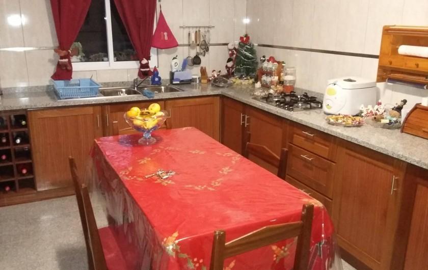 Location de vacances - Villa à Curral Das Freiras - Cuisine indépendante