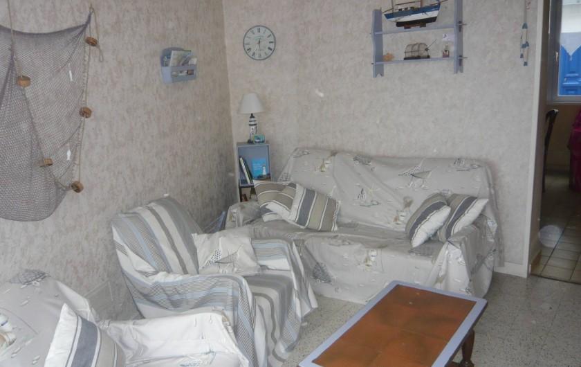 Location de vacances - Gîte à Fécamp - Salon.