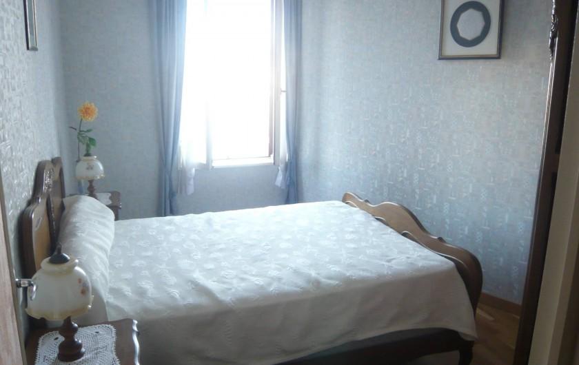 Location de vacances - Gîte à Fécamp - Chambre 1er étage.