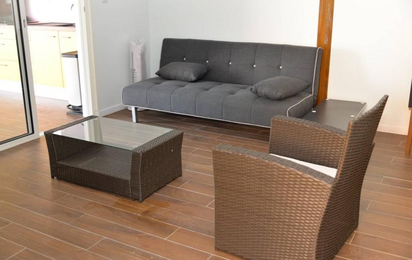Location de vacances - Appartement à Sainte-Anne - Salon