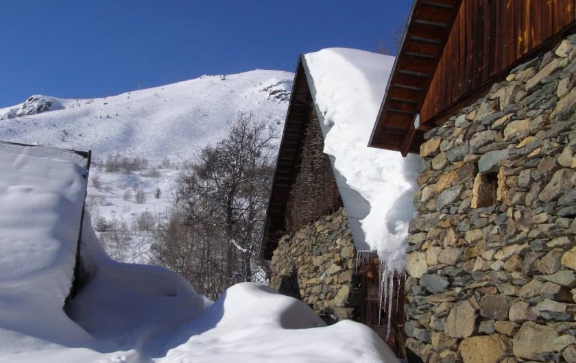 Location de vacances - Chalet à Pralognan-la-Vanoise - Station village  familiale