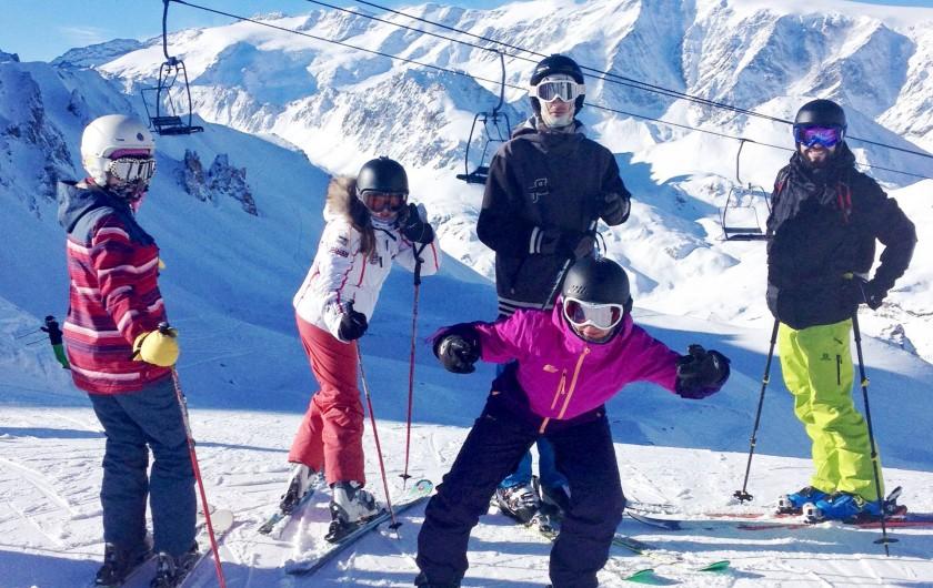 Location de vacances - Chalet à Pralognan-la-Vanoise - Famille au ski