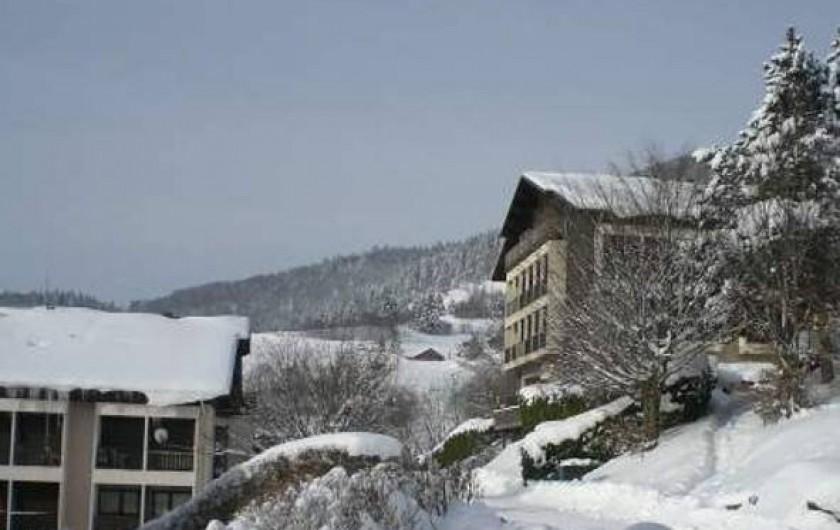 Location de vacances - Appartement à Bussang - Chalet hiver