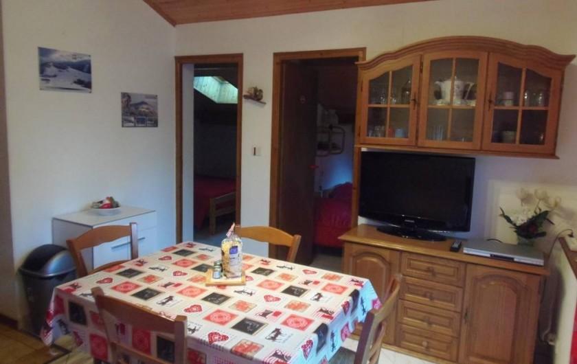 Location de vacances - Appartement à Bussang - Séjour et entrée 2 chambres