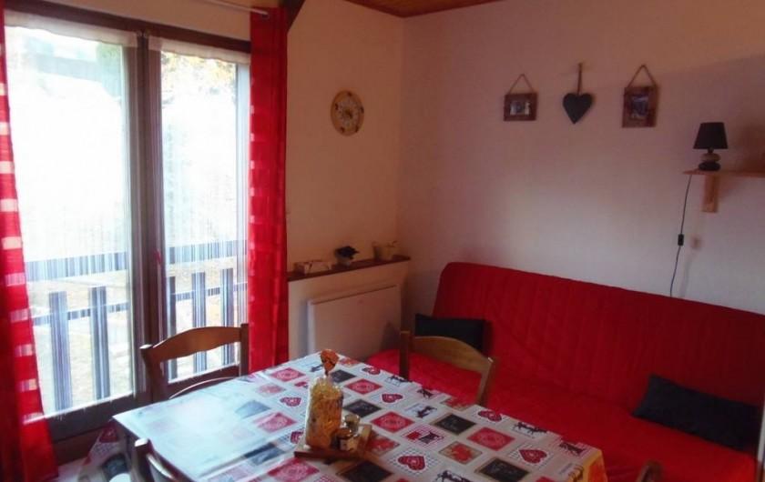 Location de vacances - Appartement à Bussang - Coin salon