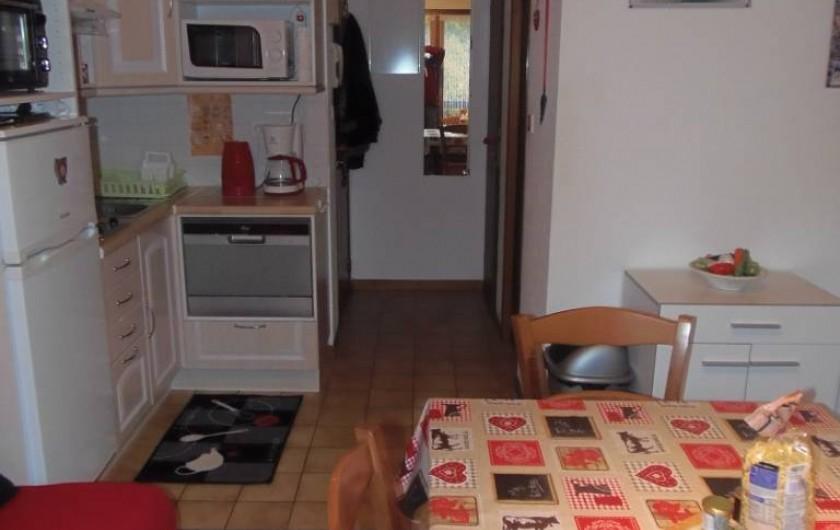 Location de vacances - Appartement à Bussang - Séjour /  cuisine